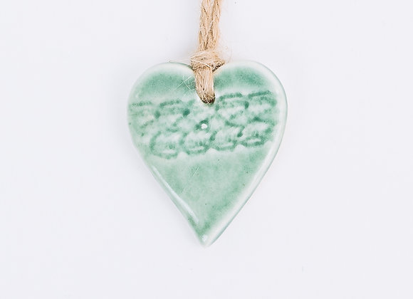 Textured Heart - Noble Fir