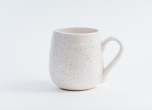 2nd's Mug - Peppered White