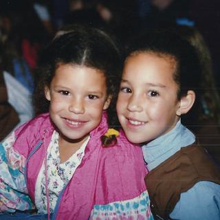 Olivia and Sarah
