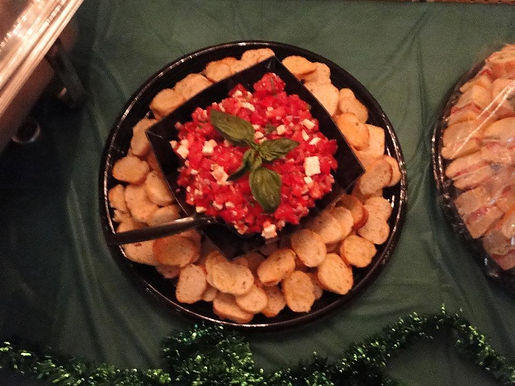 Tomato & Basil Brushetta