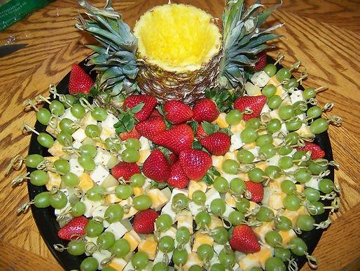 Seasonal Fruit & Cheese Skewers