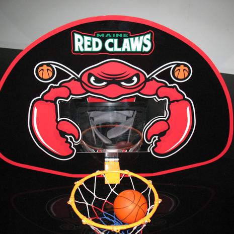maine red claws hoop helmet head