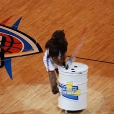 NBA OKC Thunder Ball Blaster