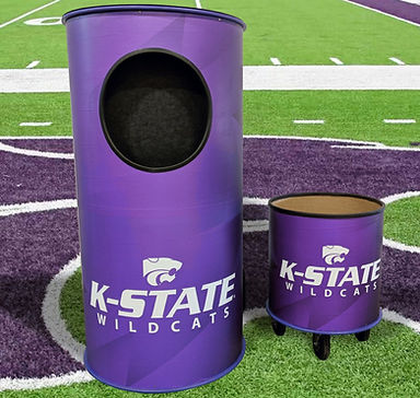FOOTBALL TOSS game K STATE