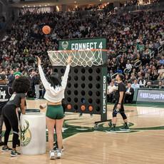 Milwaukee Bucks Connect Four
