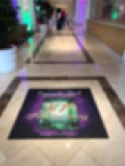 Corporate Event Custom Printing Floor Gr