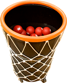 giant basketball hoop basket