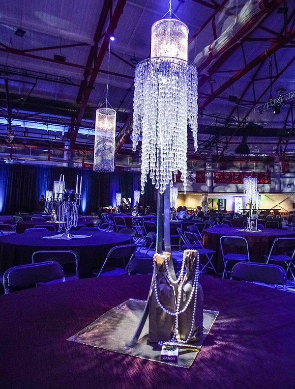 Corporate Winter Themed Event Centerpiec