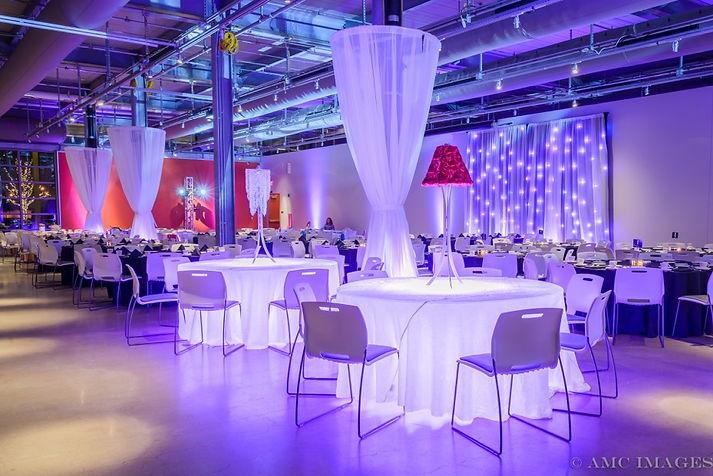 Wedding Audio Lighting Centerpiece Renta