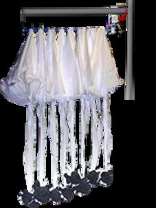 promo mini parachutues drop device