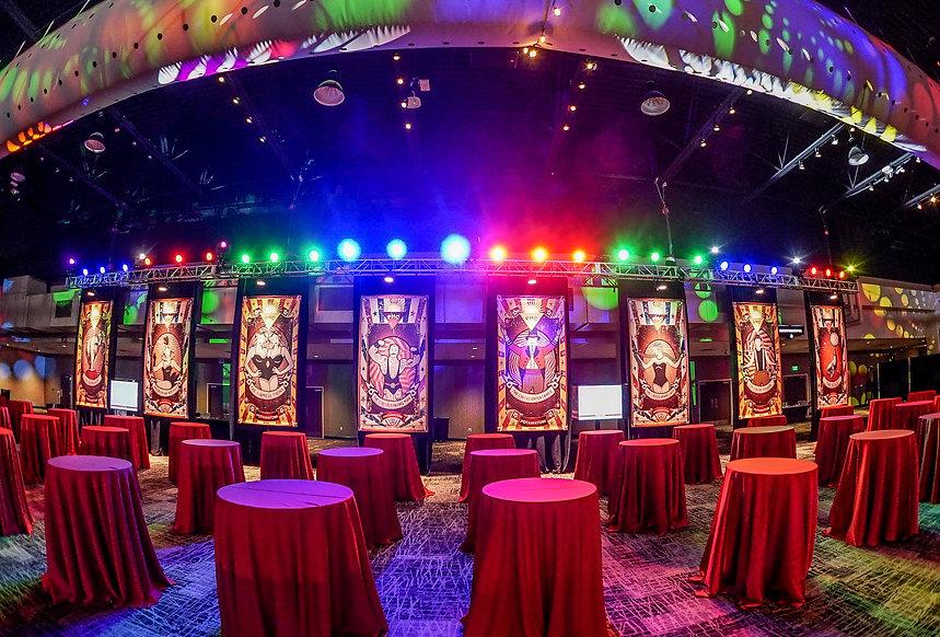 Corporate Event Circus Themed Custom Pri