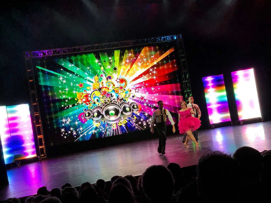 Dance Competition Milwaukee Video Wall.j