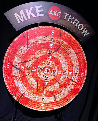 giant axe throw dart board