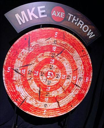 Giant Axe Throw Game