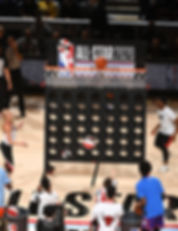nba all star game rising stars game giant connect four