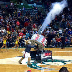 triple barrel t-shirt gatling gun cannon milwaukee bucks