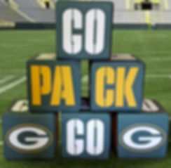 Giant Dice Green Bay Packers