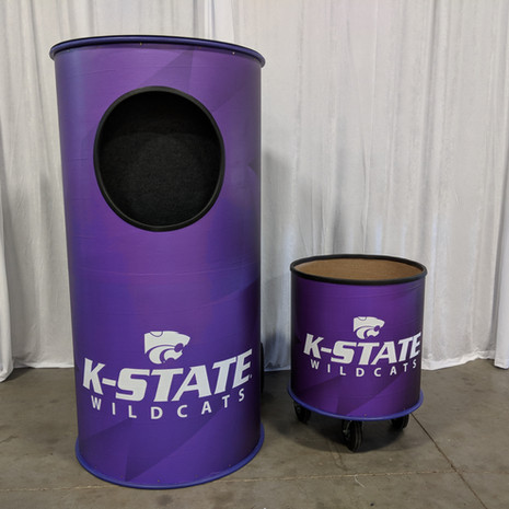 kansas state football toss game