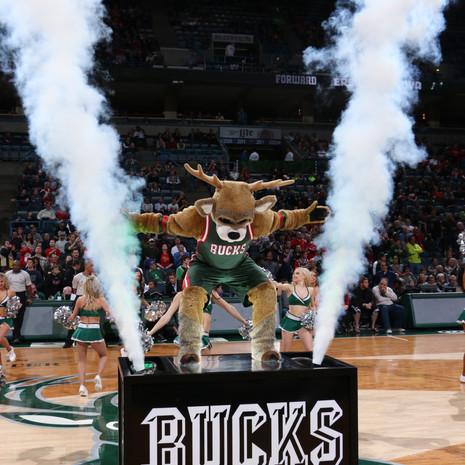 NBA Milwaukee Bucks Intro Platform Bango