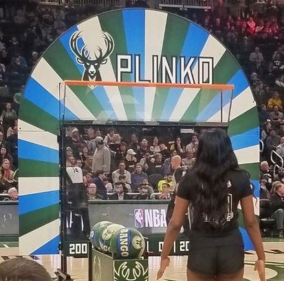 NBA Milwaukee Bucks Giant Plinko