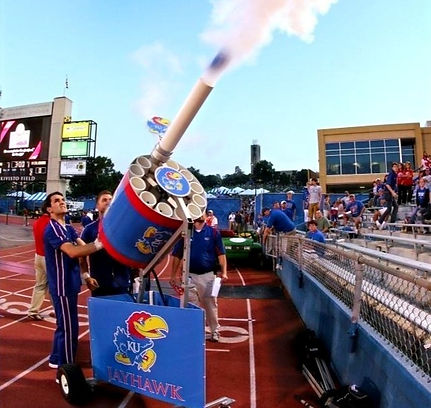 kansas t-shirt t shirt gatling gun cannon