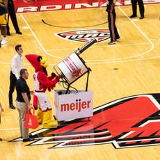 Big Red Cardinals Single Barrel Gatling Tshirt gatling gun cannon