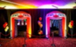 Corporate Themed Circus Event Clown Face