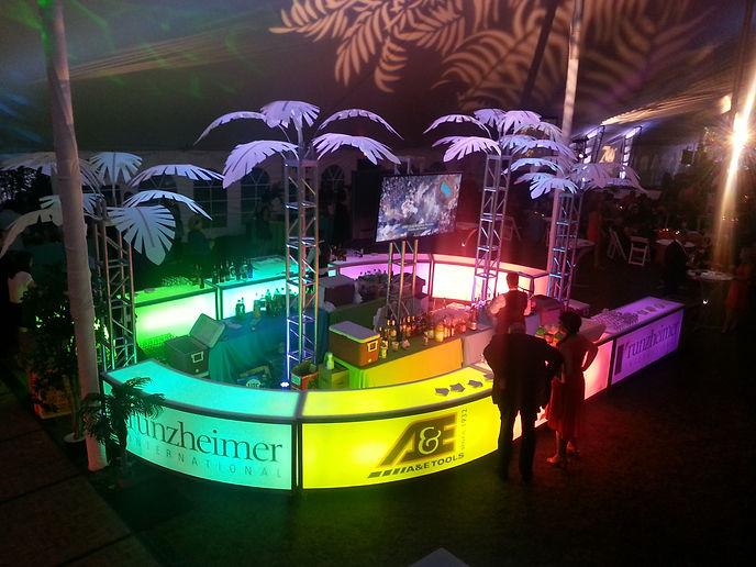 Corporate Miami Vice Themed Event Super