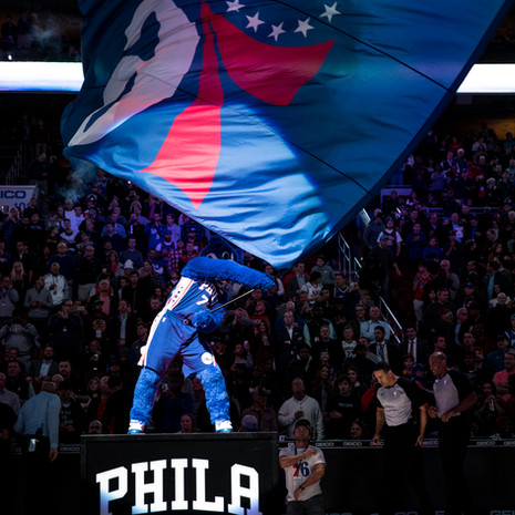 NBA Philadelphia 76ers Intro Platform Franklin
