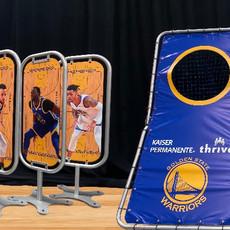NBA golden state warriors Skills Challenge