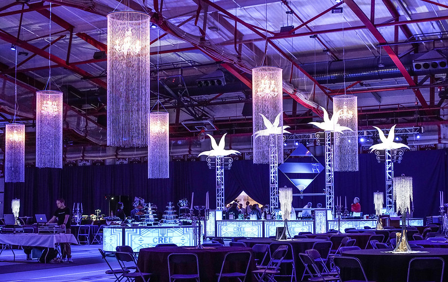 Corporate Event Winter Themed Decor Chan