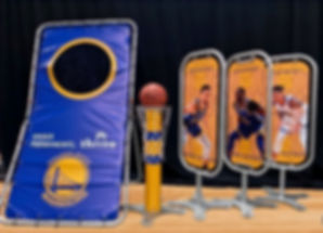 NBA Golden State Warriors Skill Challenge