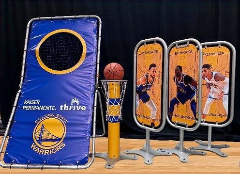 NBA Golden State Warriors Skill Challenge