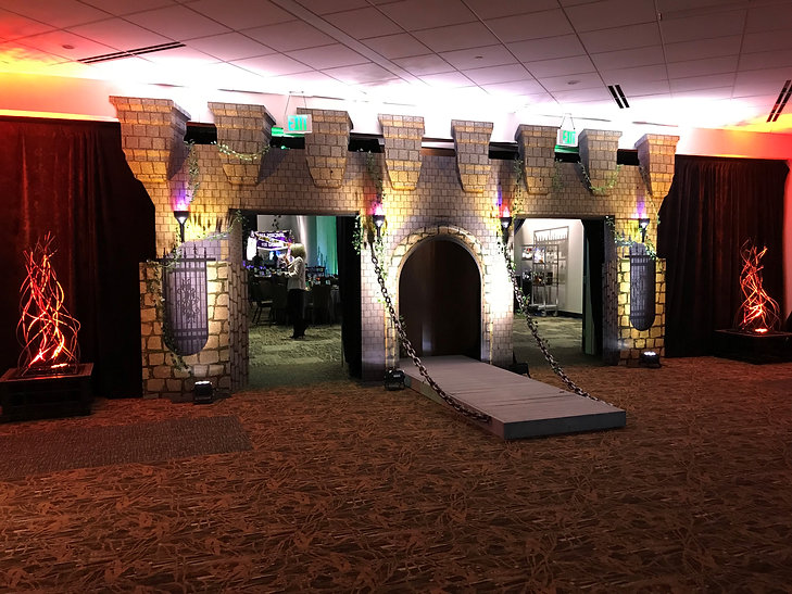 Corporate Medieval Themed Event Castle E