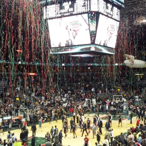 milwaukee bucks confetti