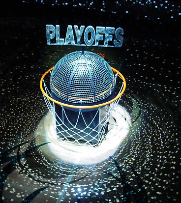 Giant Mirror Ball Playoff Topper