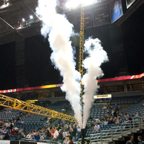 Milwaukee Bucks Cryo Jets Intro Effects