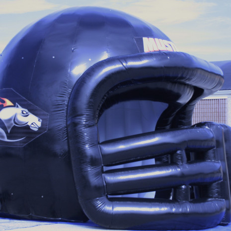 warriors inflatable tunnel football intro