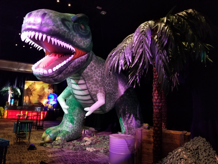 Jurassic Park Themed Event Inflatable T-