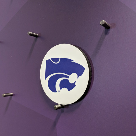k state kansas state giant plinko game