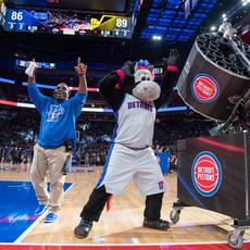 Detroit Pistons Double Barrel t shirt gatling gun cannon