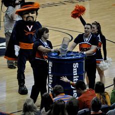 NCAA U of Virginia ball blaster