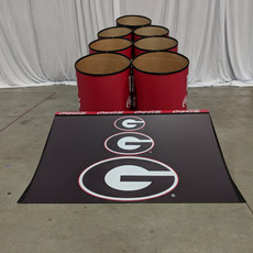 georgia bulldogs giant skeeball skee ball game