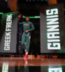 milwaukee bucks video wall intro giannis Antetokounmpo intro video