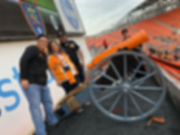 mls houston dynamo civil war cannon howitzer intro
