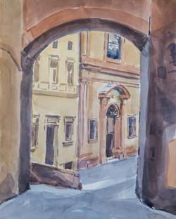 Sienne Arco di Santa Lucia