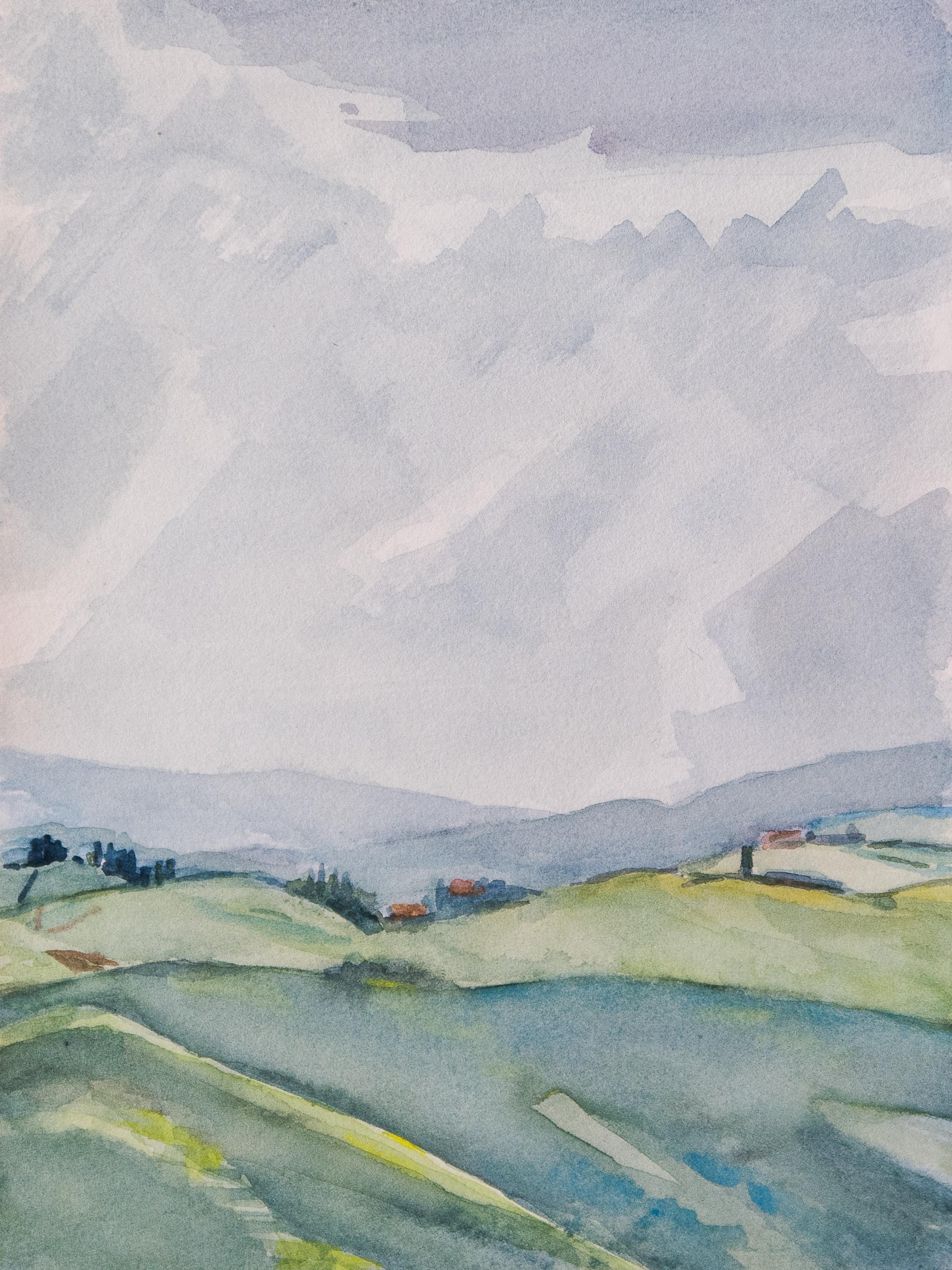 Collines siennoises printemps 1802