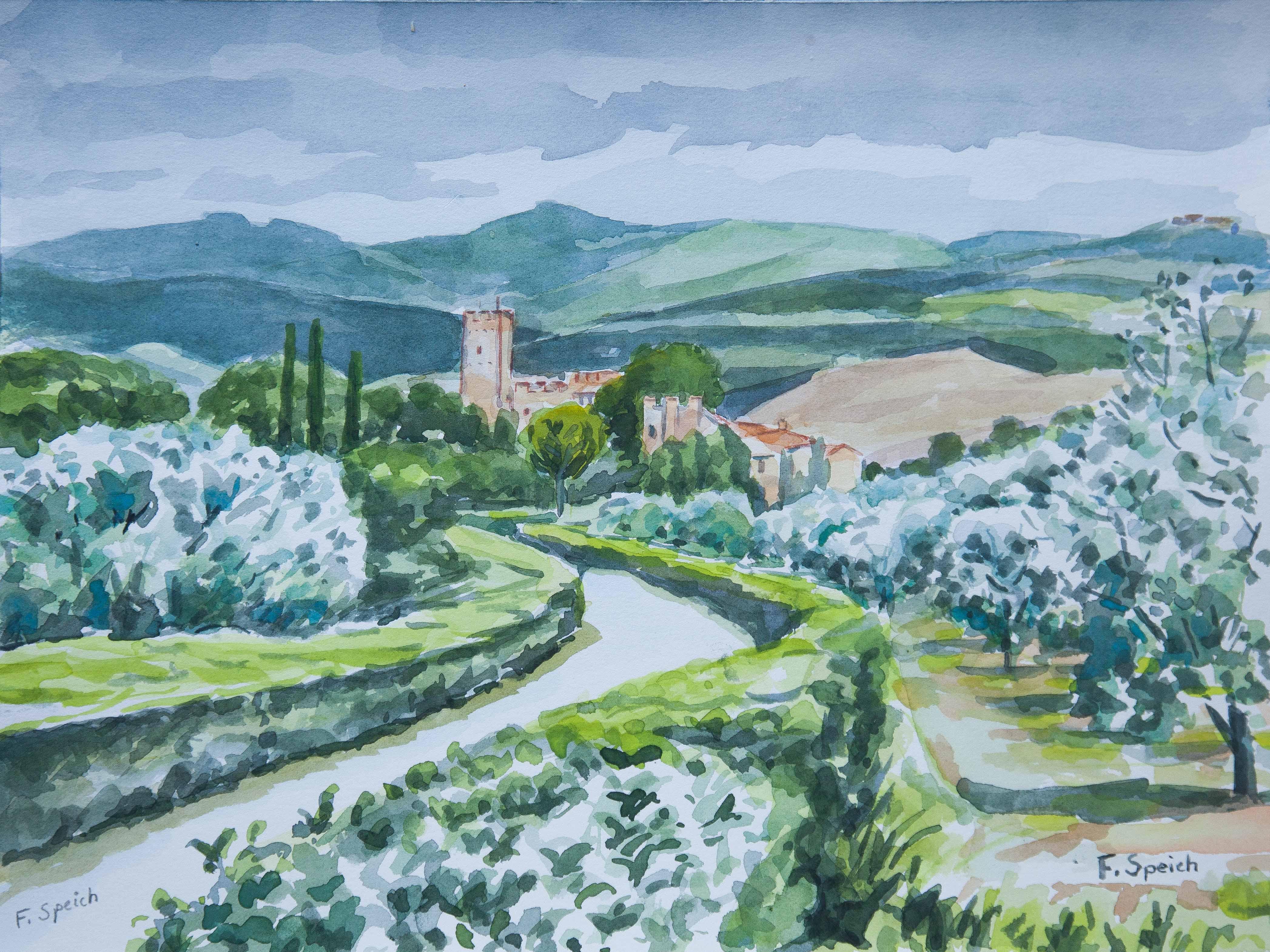 Italie - Chateau de Montalto