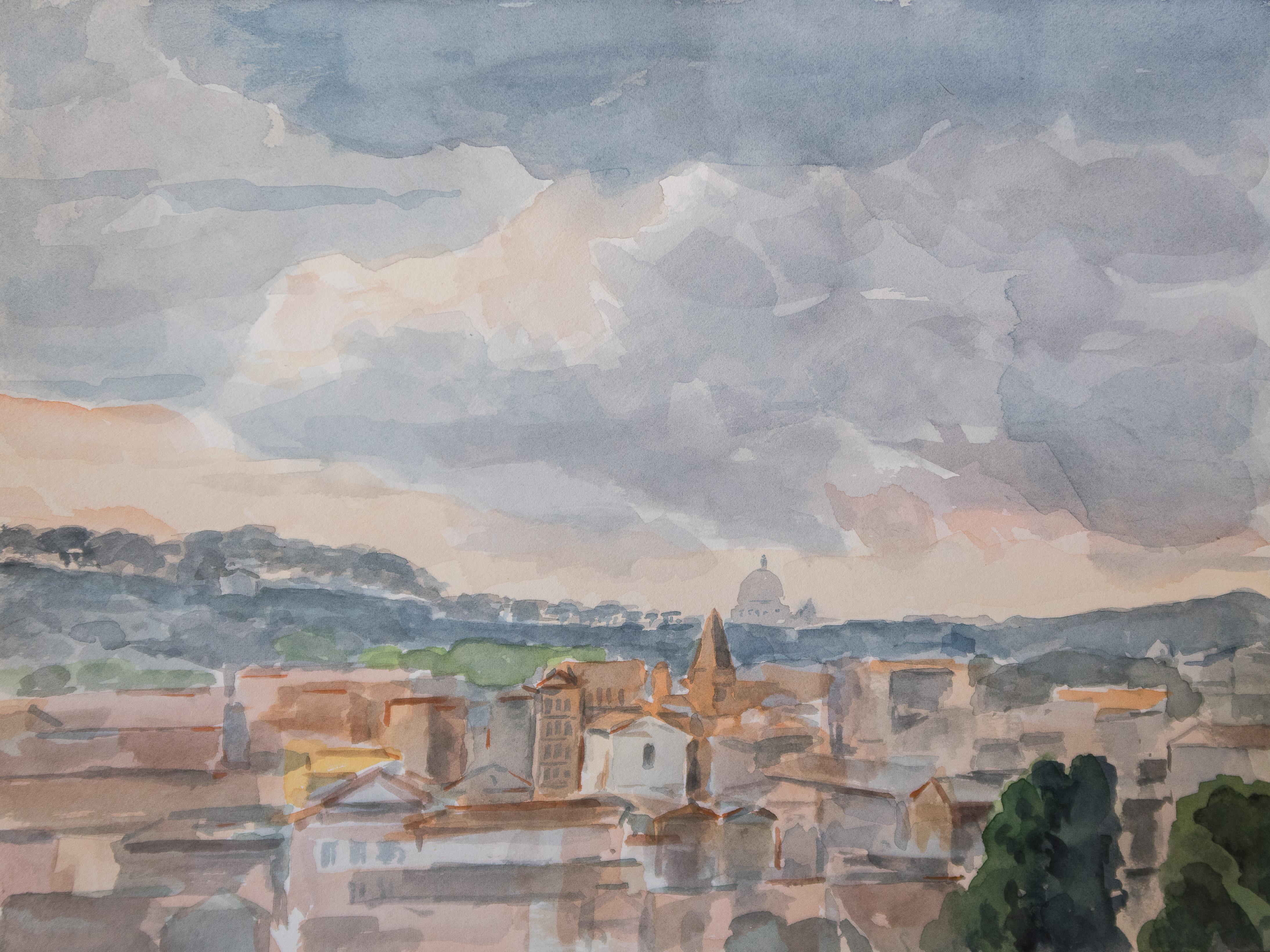 Rome - Saint-Pierre depuis l'Aventin