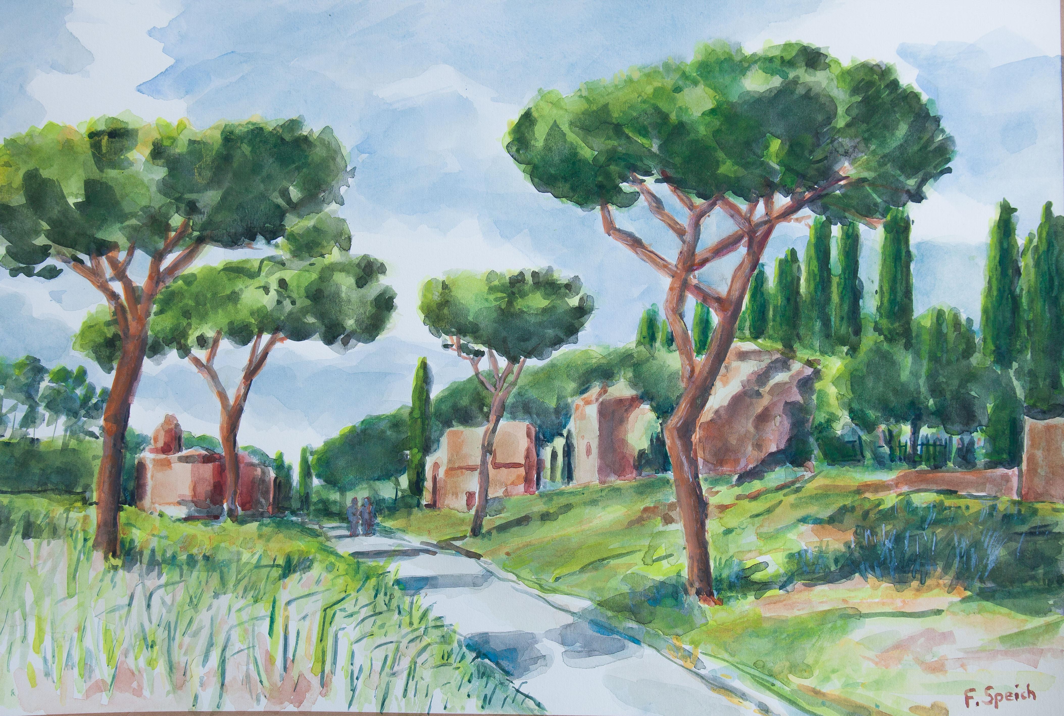 Via Appia in Rome